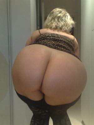 big white mature ass