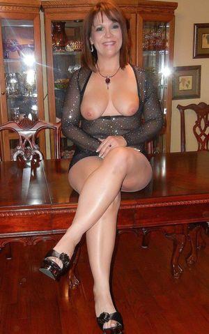 mature nylon stockings