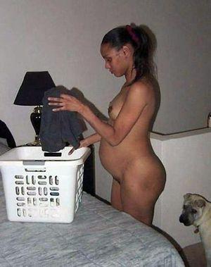 pregnant girls naked