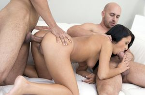 double penetration asian