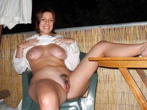 big boobs outdoors