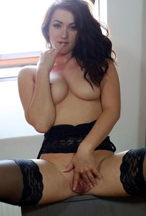 sexy wife in stockings