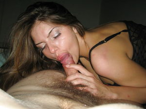beautiful wife blowjob