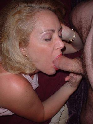amateur wife blowjob