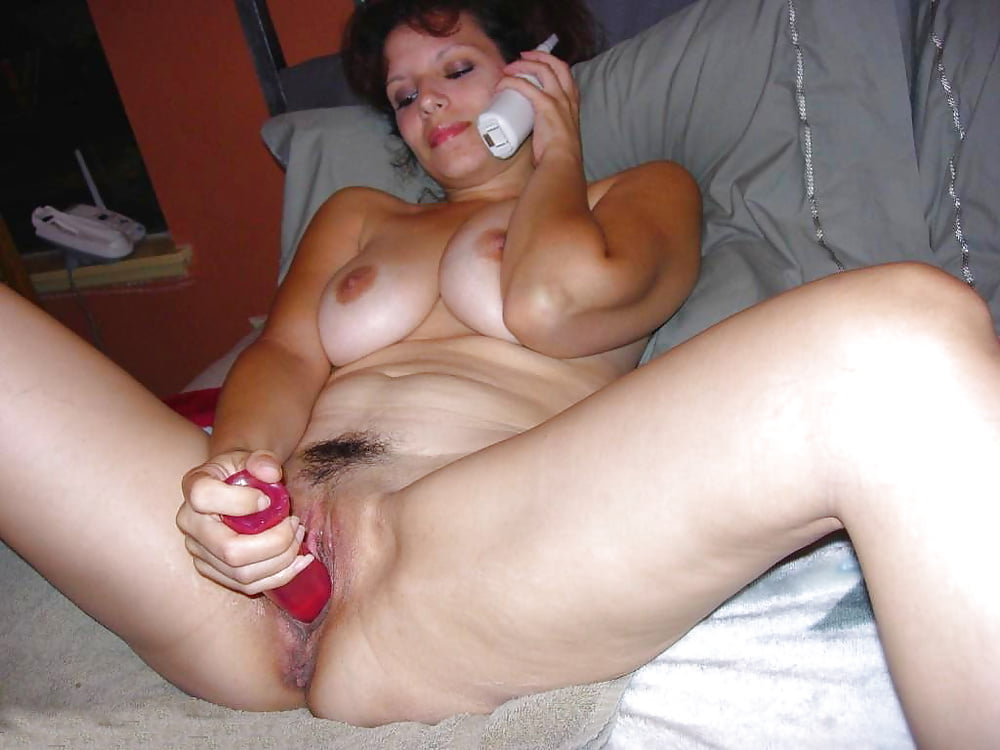 My Wife Using A Nice Dildo For My Fantasy