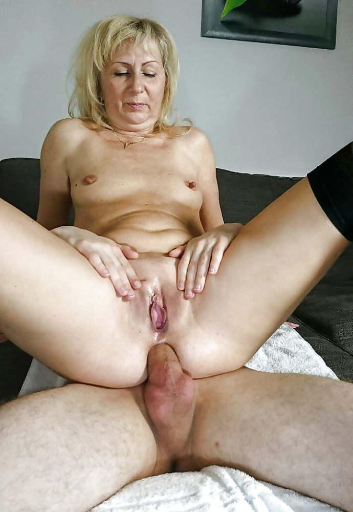 Homemade Mature Blonde Anal