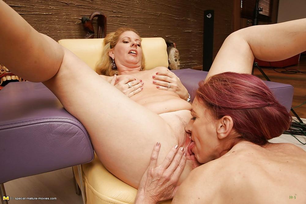 Teen lesbian old woman