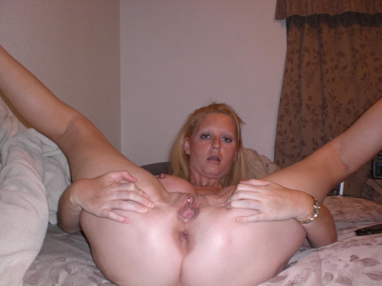 Beautiful Mature Nude Blonde Wife