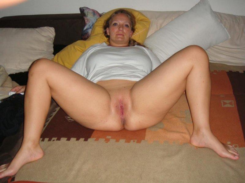 Зрелая полная баба