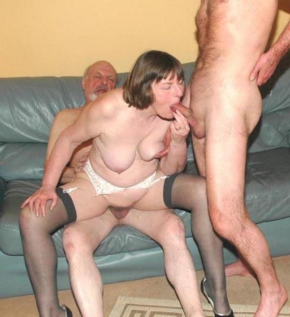 Granny Porn Blog: Swinging Granny