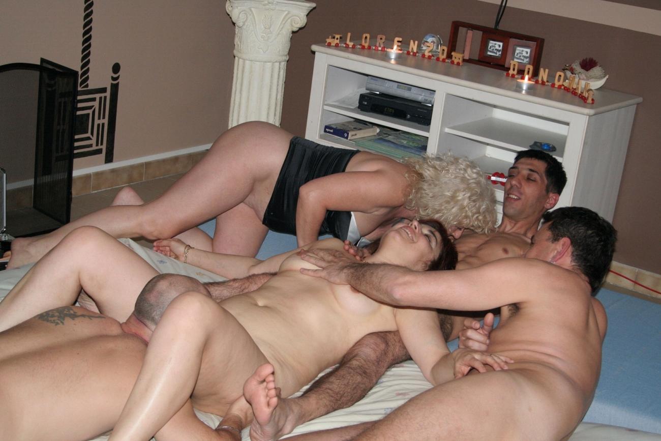 Секс С Семейной Парой