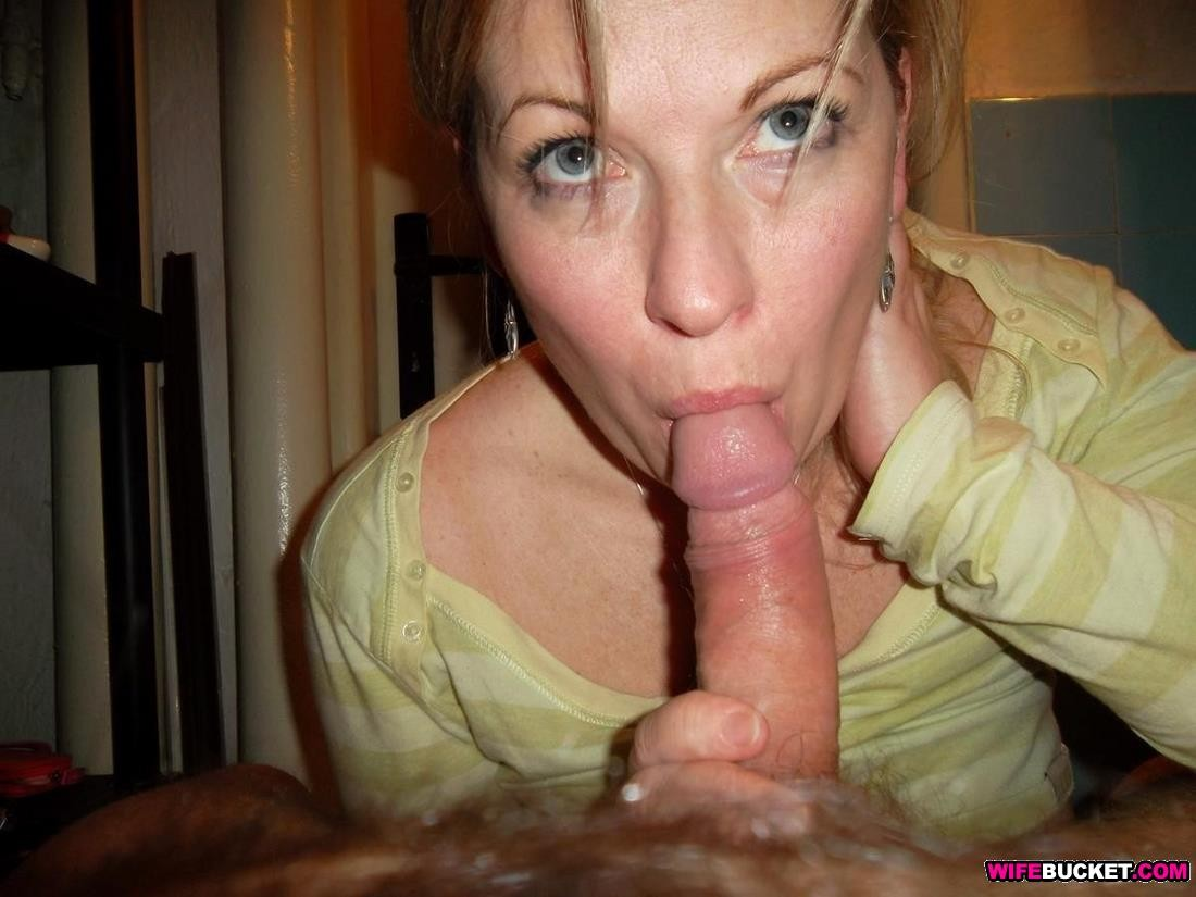 Amateur Wife Edging Blowjob