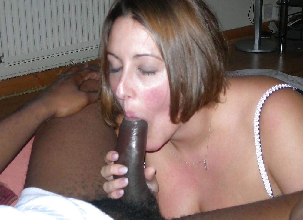 BBW Ex wife sucking black big cock. (19) -Expic