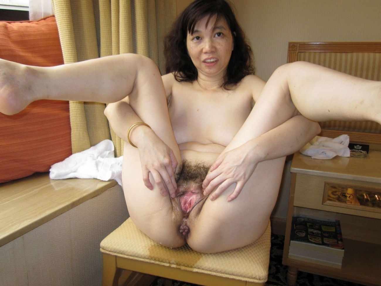 Hairy mature asian women naked