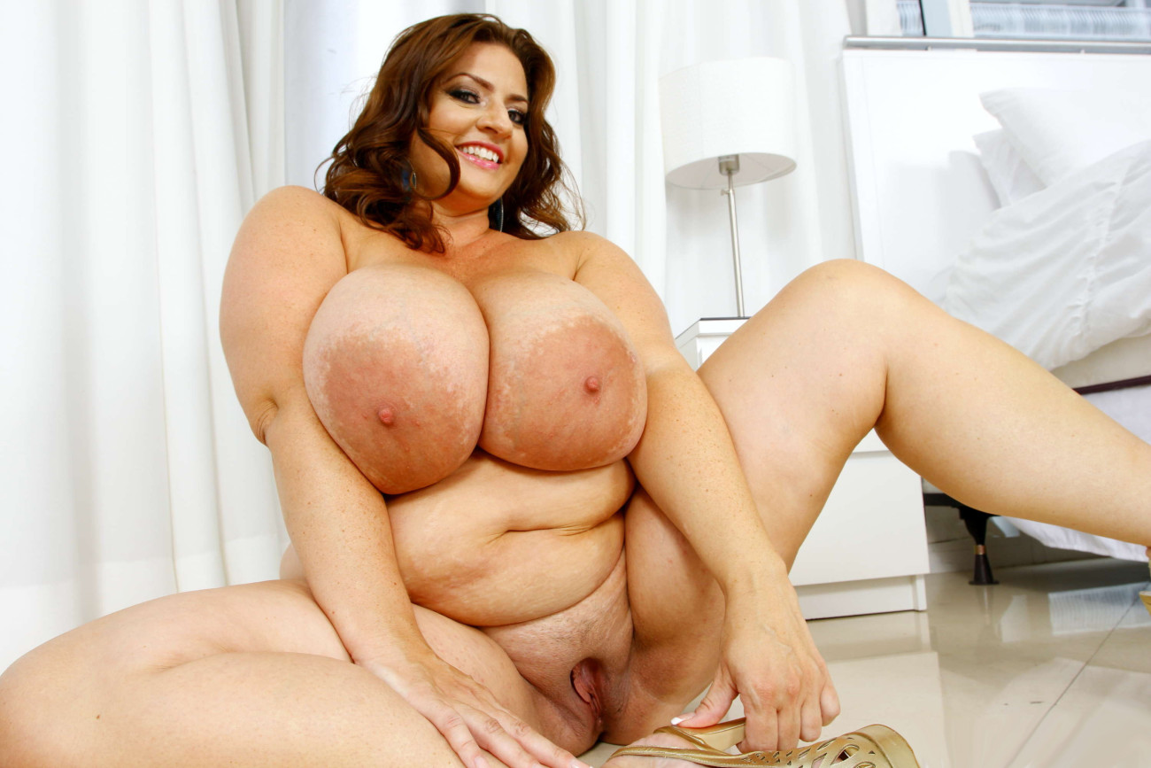 Big fat beautiful woman with huge boobs