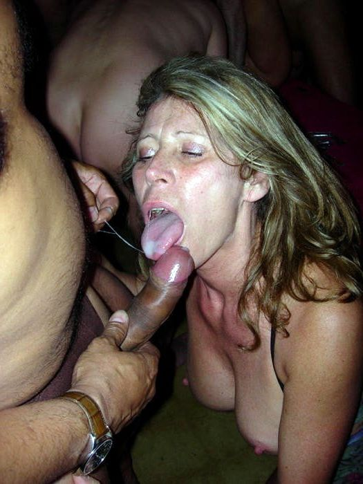 Mature sluts which was fucked right in the street