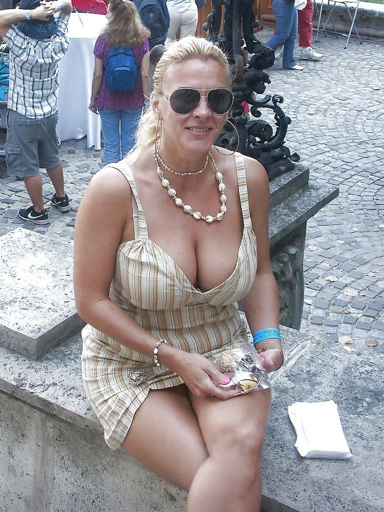 Curvy and charming mature women in swimsuits