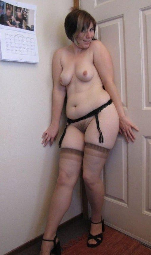 Amateur MILF and Mature in Stockings, hot and naked women