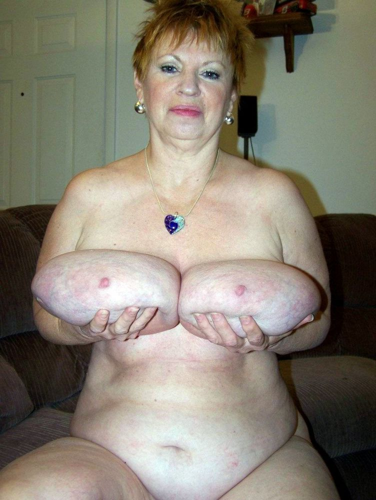 Dissolute grannies show small and big flabby tits