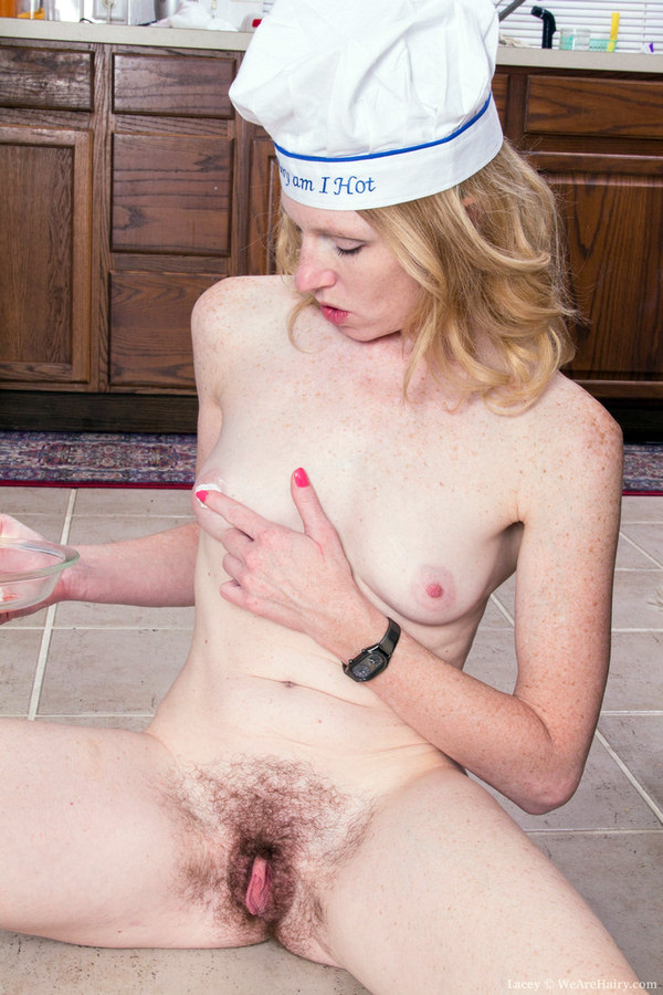 ATK hairy pussy of blonde MILF
